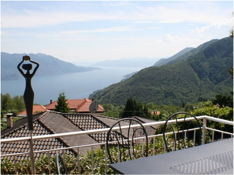 Seesicht von der Terrasse