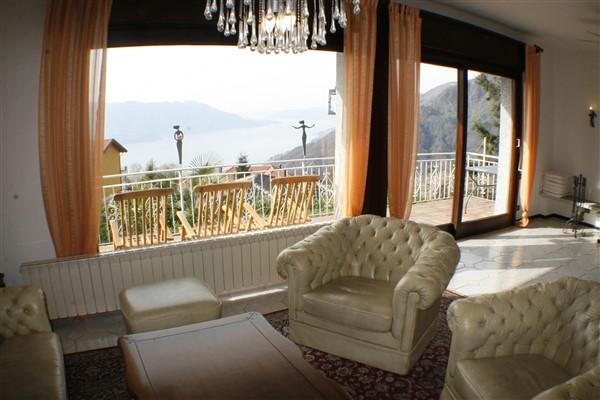 Seeblick von der Wohnzimmer Couch